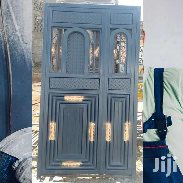 Archive: Main Fabricated Steel Door in Nairobi Central - Doors, Nairobi  Steel Fabricators   Jiji.co.ke