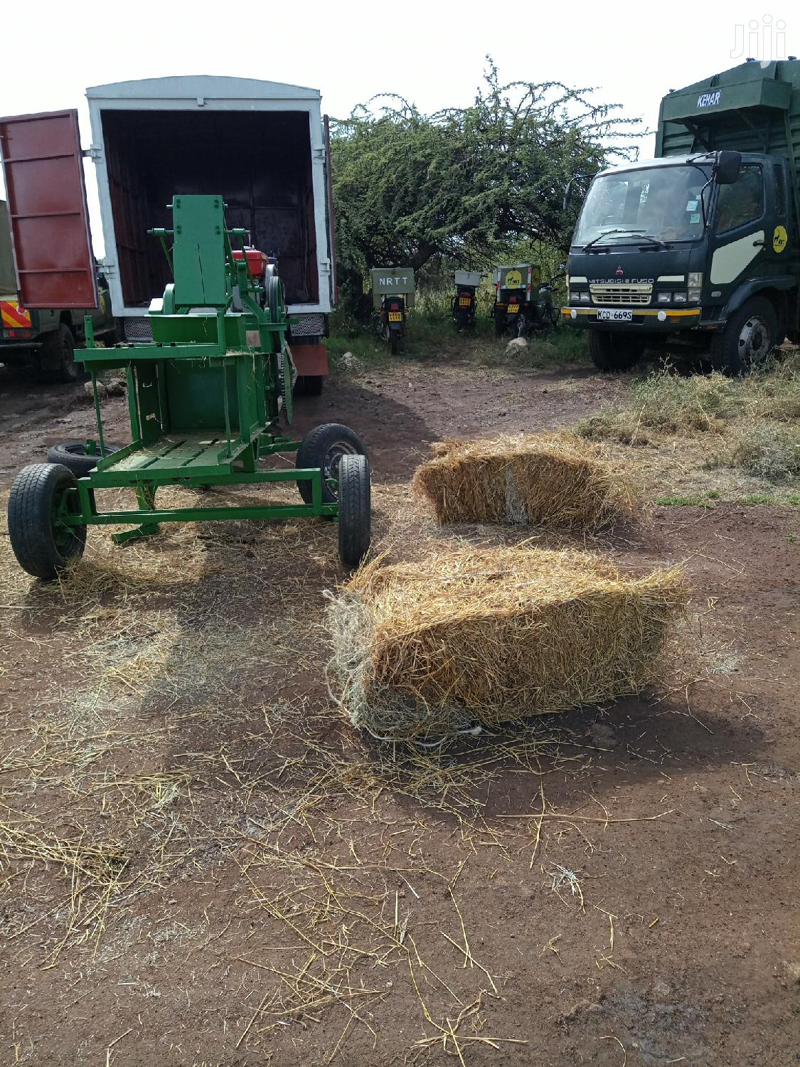 Archive: Automatic Hay Baler