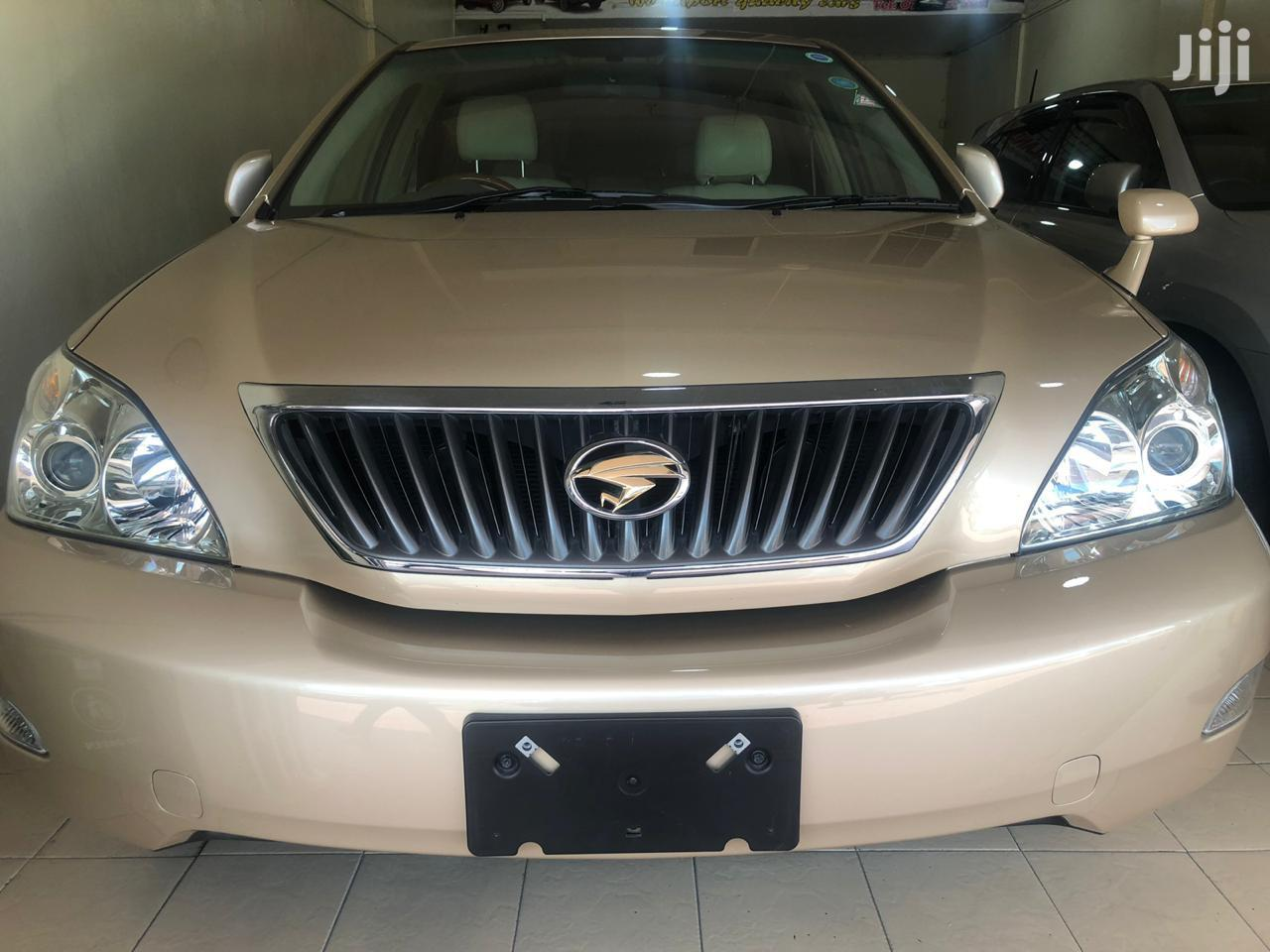 Toyota Harrier 2012 Gold
