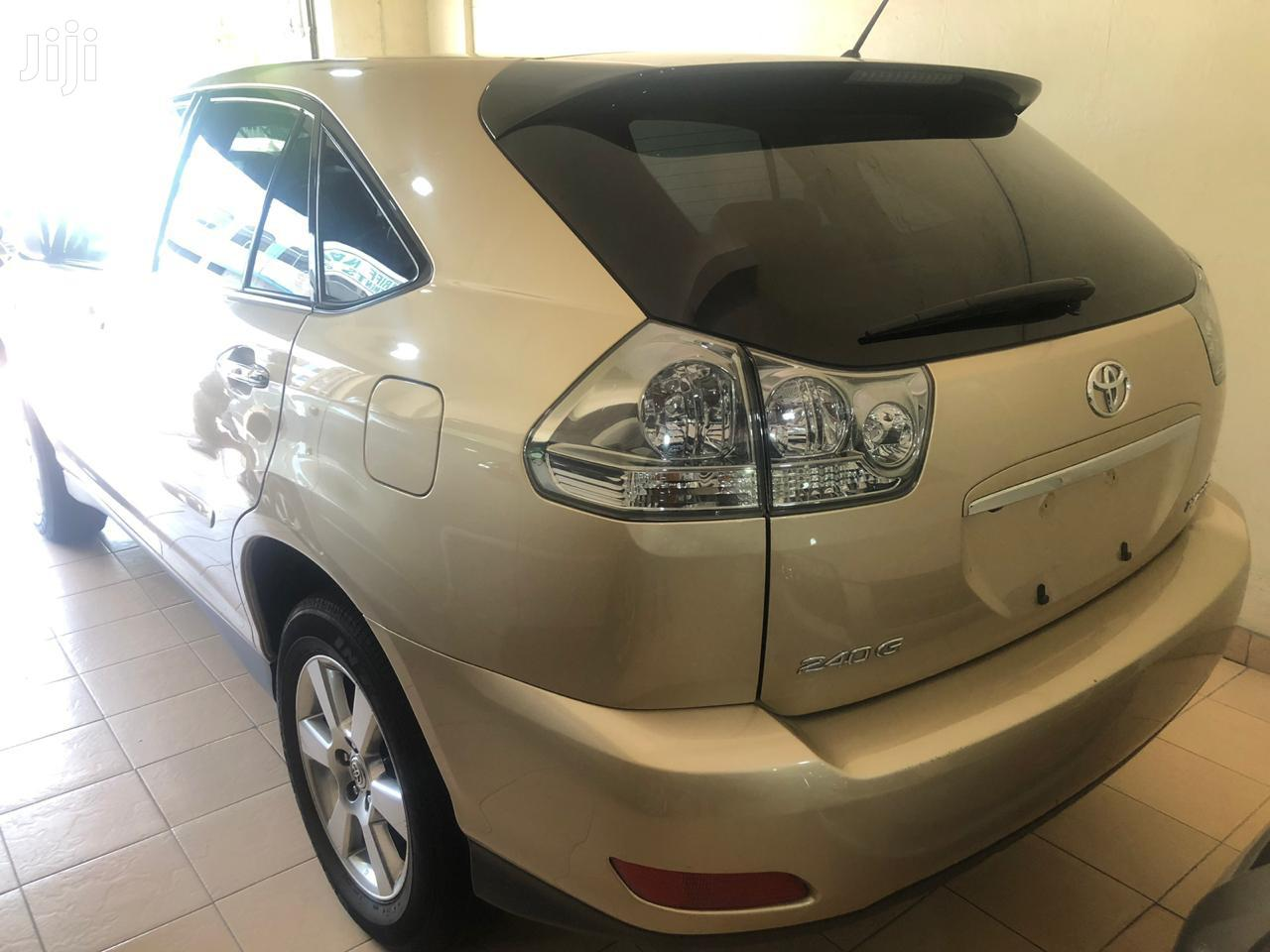 Toyota Harrier 2012 Gold | Cars for sale in Tudor, Mombasa, Kenya