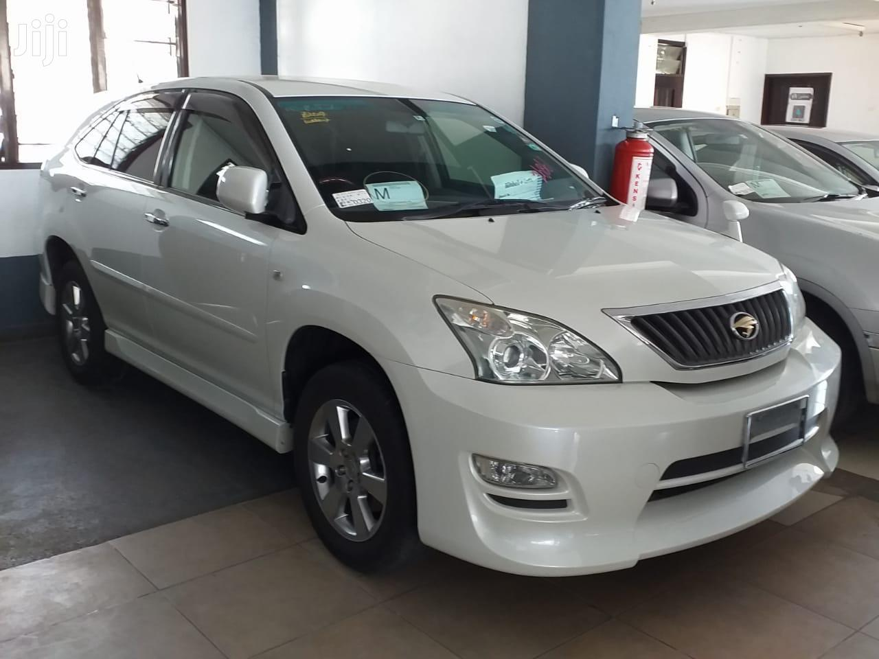 Toyota Harrier 2012 White | Cars for sale in Tudor, Mombasa, Kenya