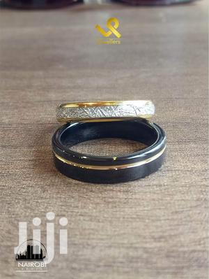Custom Black and Gold Tungsten Carbide Couples Wedding Rings   Wedding Wear & Accessories for sale in Nairobi, Nairobi Central