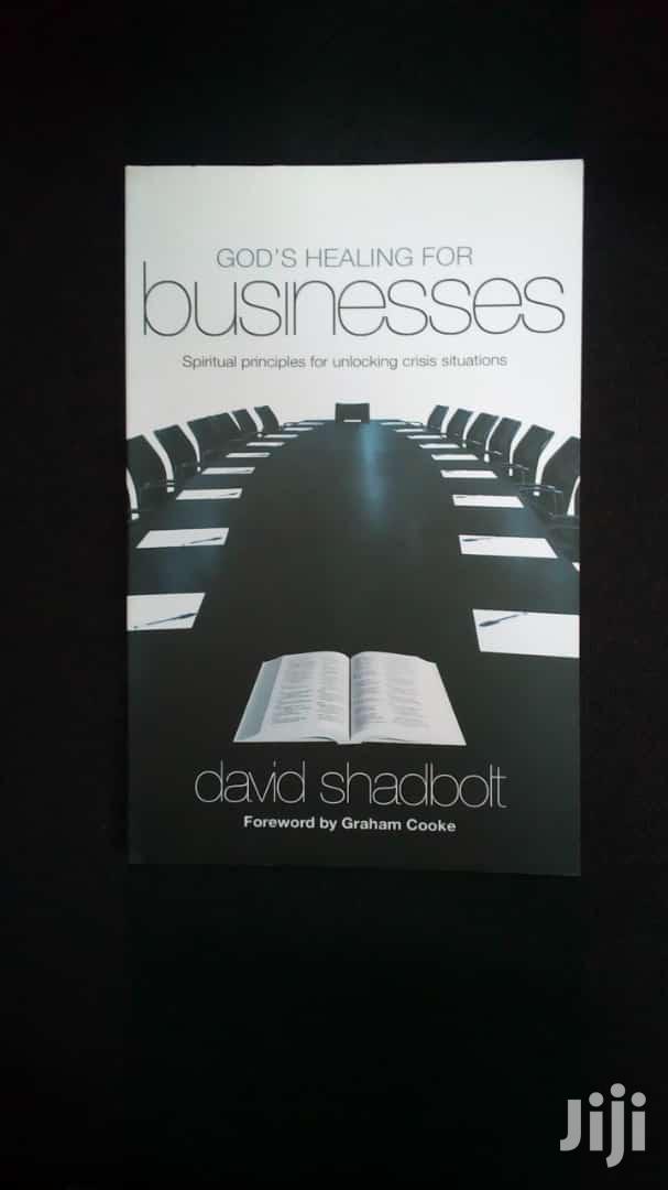 God's Healing For Businesses-david Shadbolt