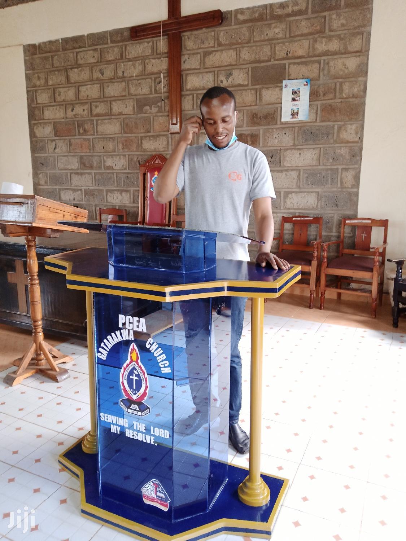 Pulpit / Podium | Furniture for sale in Nairobi Central, Nairobi, Kenya