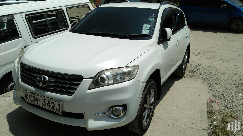 Toyota Vanguard 2011 White