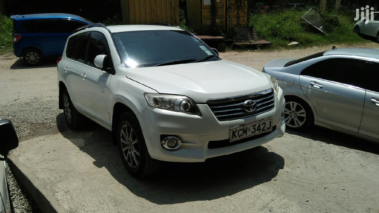 Toyota Vanguard 2011 White | Cars for sale in Tudor, Mombasa, Kenya