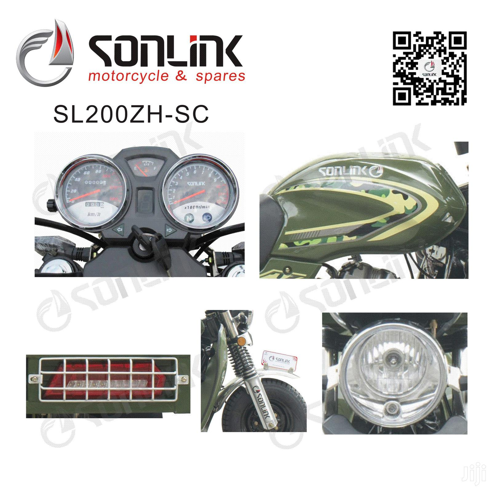 New Sonlink SL200ZH-SC 2019 Green