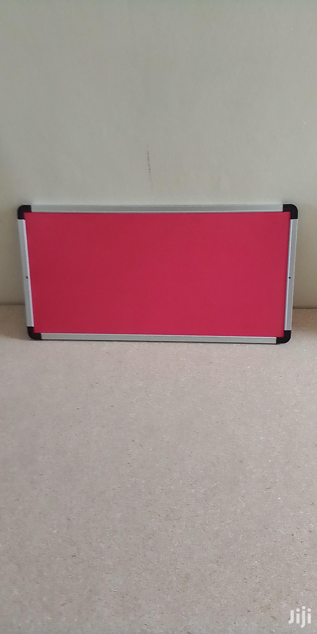 2*1ft Pin Noticeboard(Red Fabric)