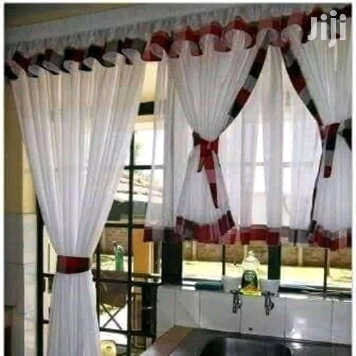 Kitchen And Door Curtain