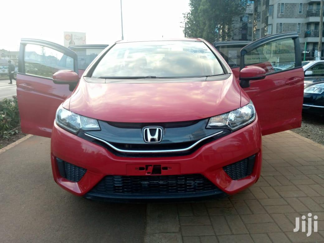 Archive: Honda Fit 2013 Red