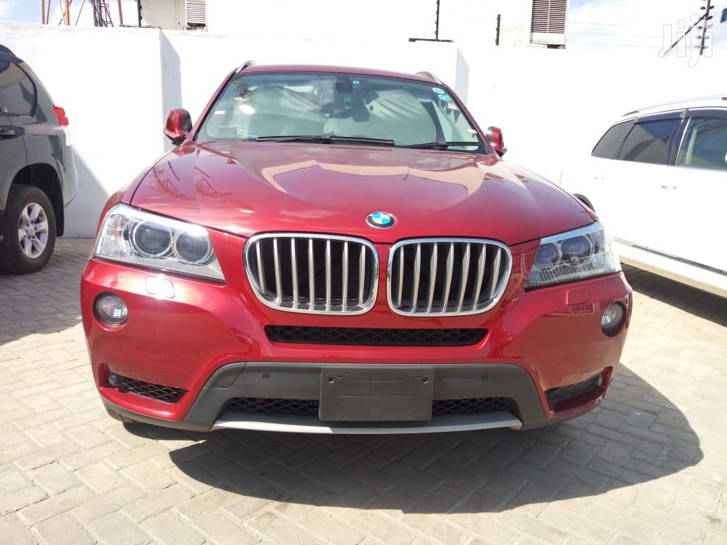 BMW X3 2012 Red