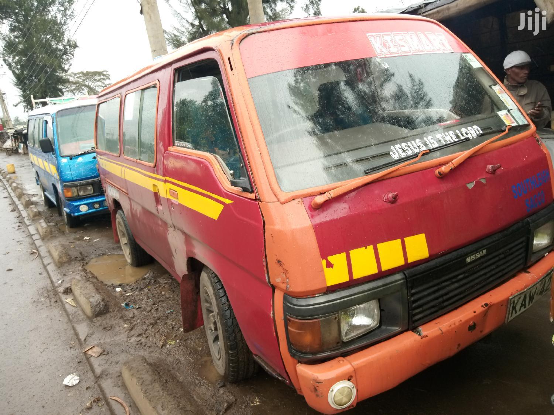 Nissan Td27 Matatu 1999 Red For Sale   Buses & Microbuses for sale in Airbase, Nairobi, Kenya