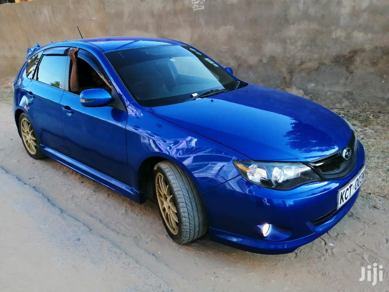 Subaru Impreza 2011 Blue