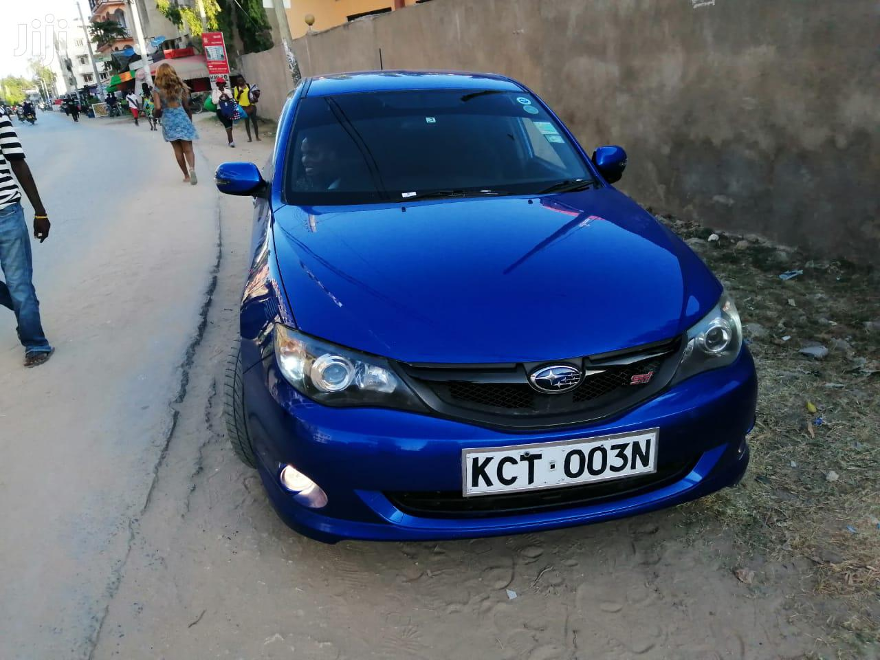 Subaru Impreza 2011 Blue | Cars for sale in Shimanzi/Ganjoni, Mombasa, Kenya
