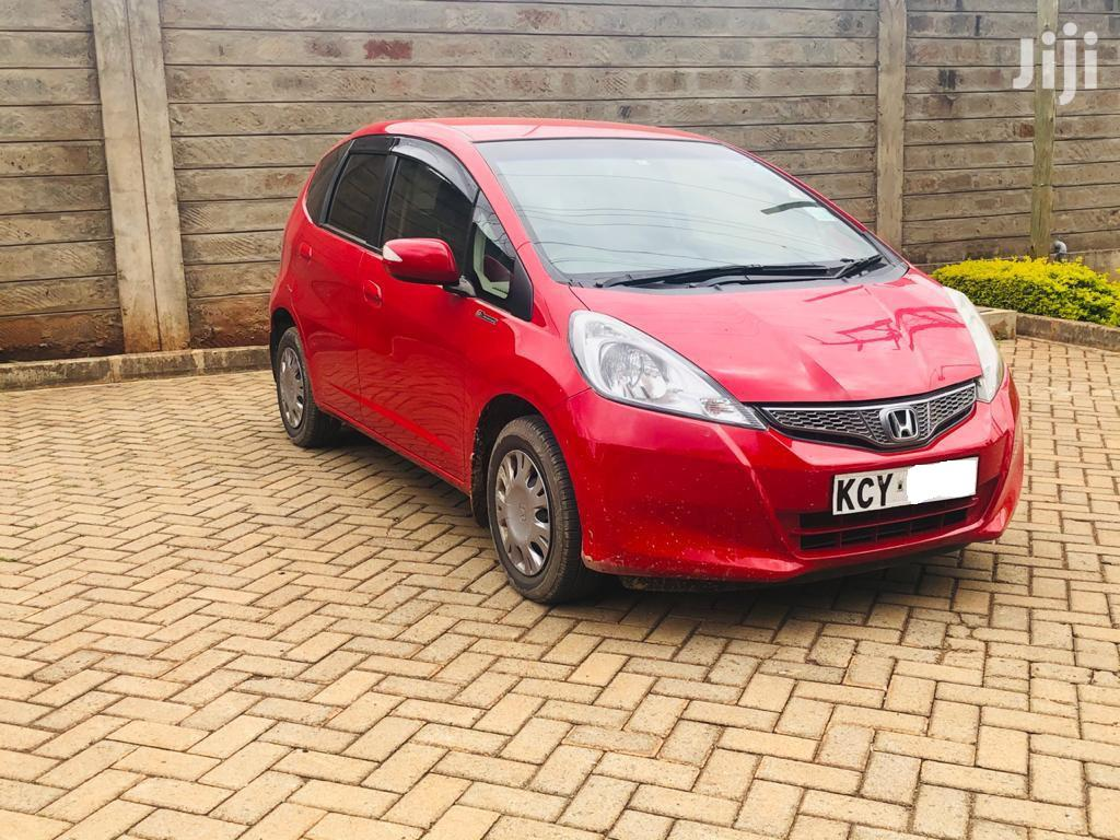 Archive: Honda Fit 2012 Red