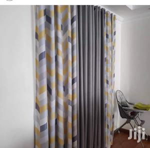 Yellow and Grey Decorative Curtains   Home Accessories for sale in Nairobi, Nairobi Central