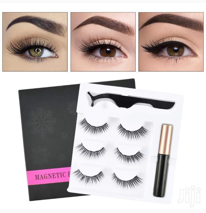 Original Magnetic Eyelashes Kit | Makeup for sale in Nairobi Central, Nairobi, Kenya