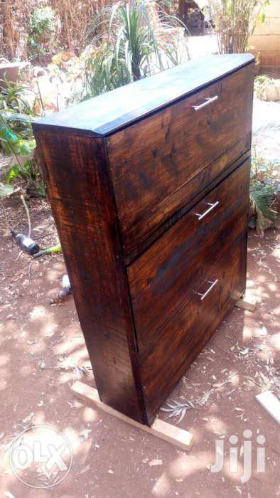 Rustic Shoe Rack | Furniture for sale in Roysambu, Nairobi, Kenya