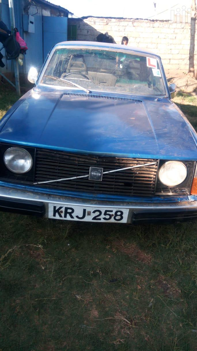 Volvo 244 1977 Blue