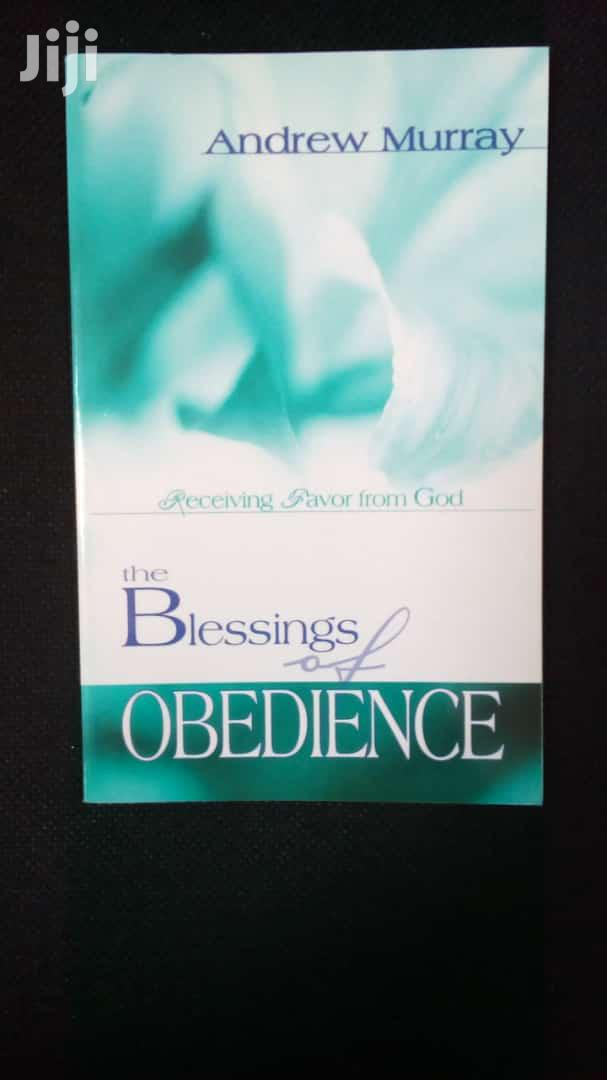 The Blessings Of Obedience- Andrew Murray