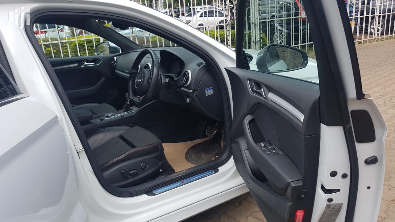 Audi S3 2015 Quattro 2.0T Premium Plus White | Cars for sale in Lavington, Nairobi, Kenya