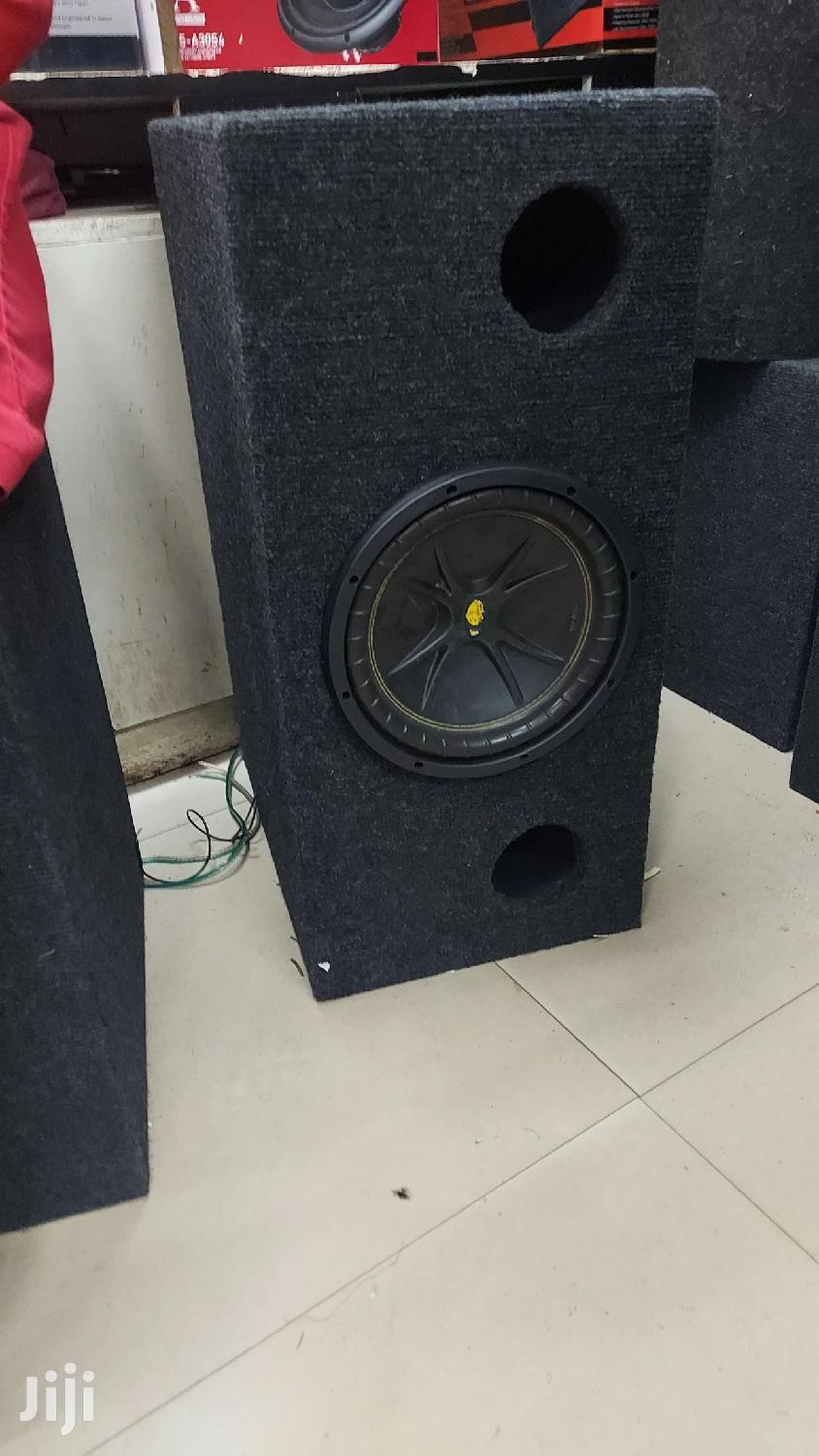 Kicker 10 Inches Deep Bass Subwoofer Used As Clean As New