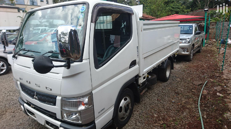 Archive: Mitsubishi Canter 2013 White