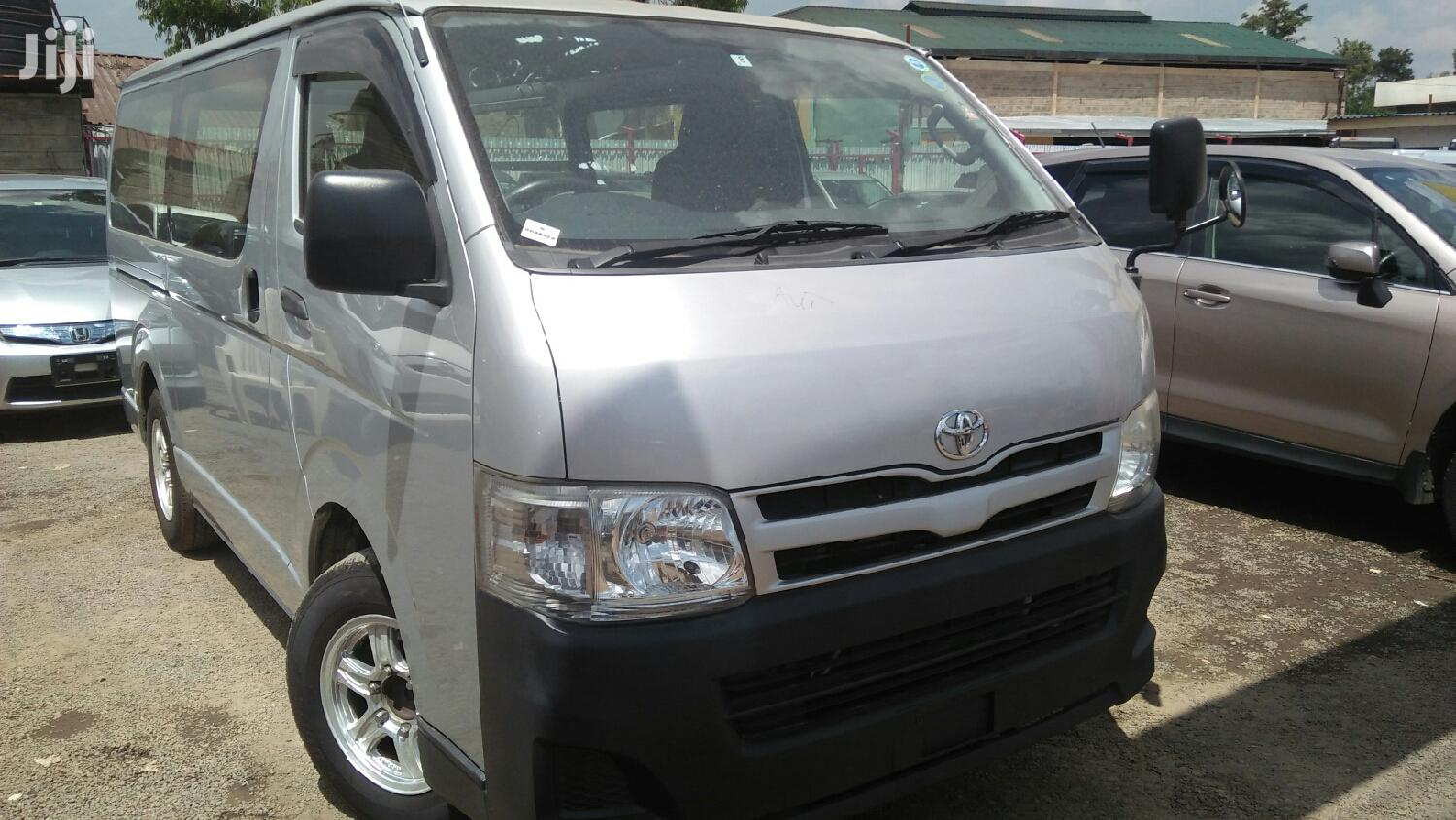 Toyota Hiace 7L Diesel Automatic 2013 Silver For Sale