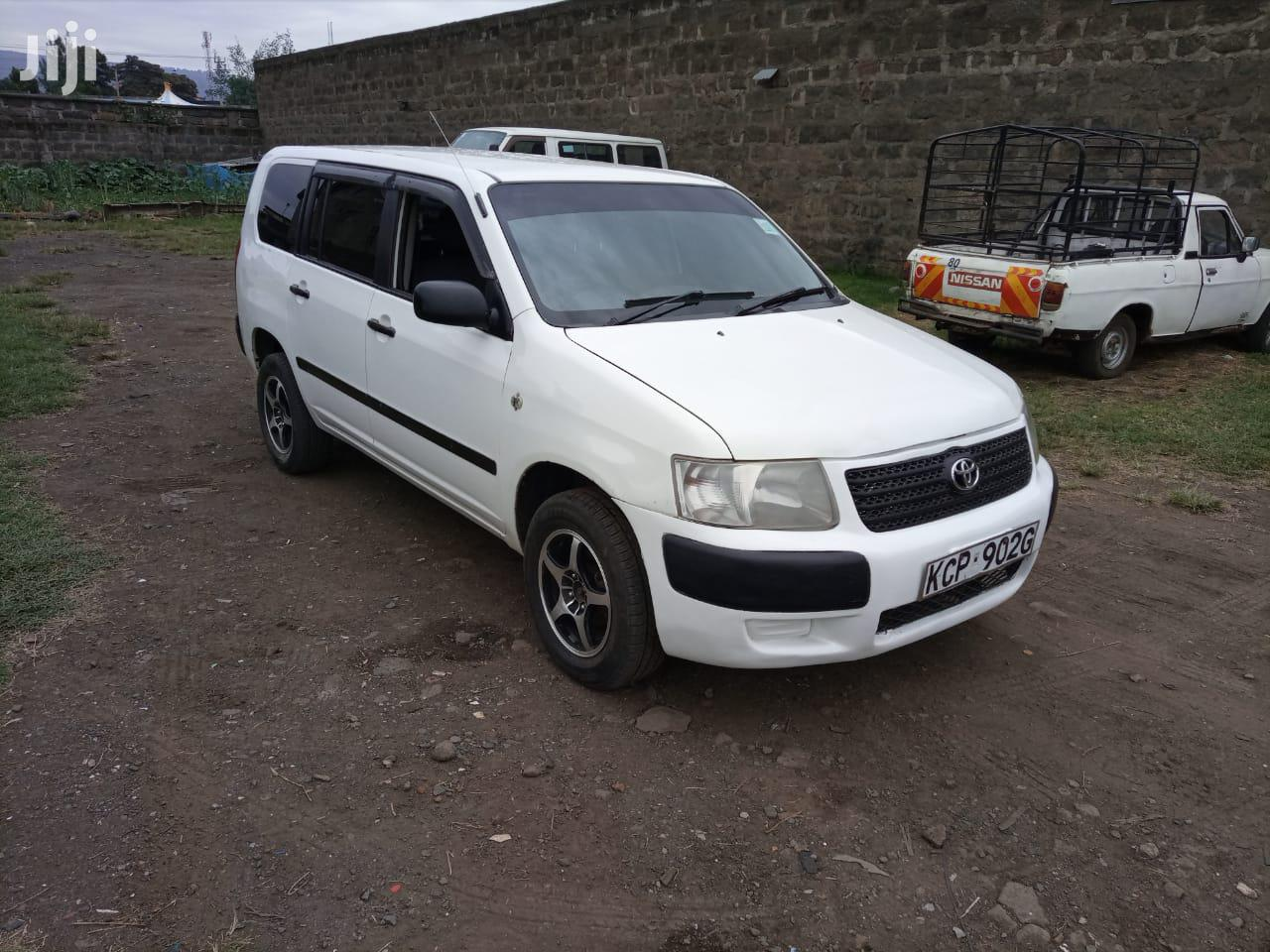 Archive: Toyota Succeed 2009 White