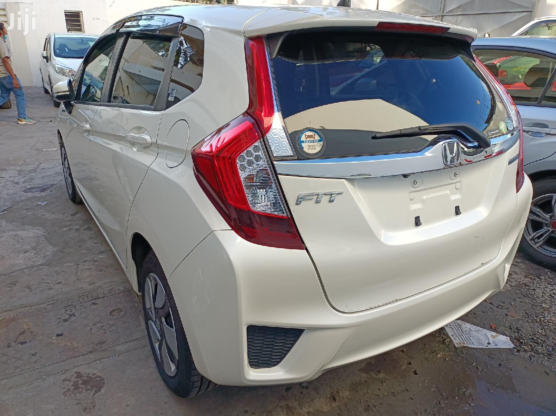 Honda Fit 2014 White   Cars for sale in Tudor, Mombasa, Kenya
