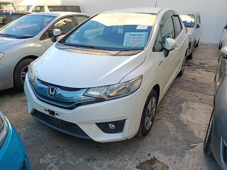 Honda Fit 2014 White