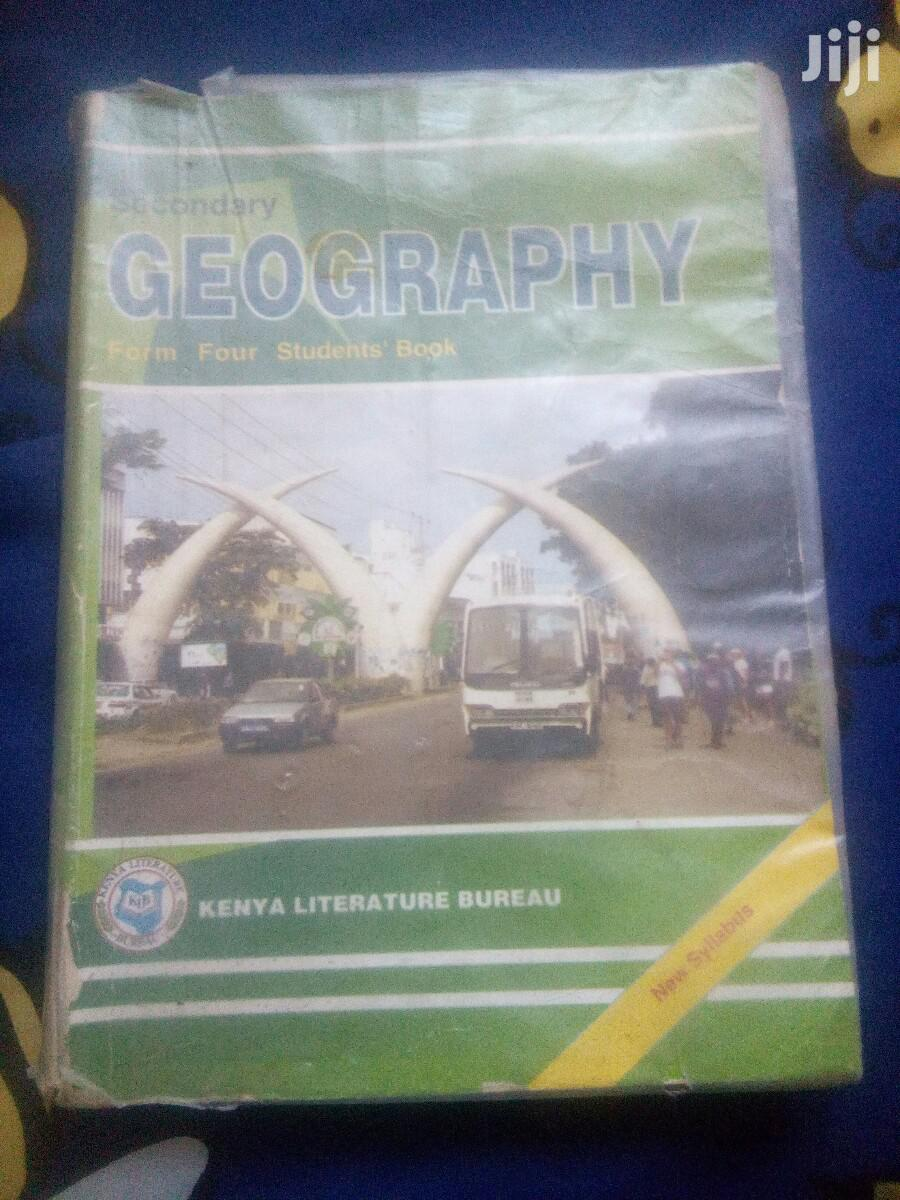 Archive: Geography Form Four