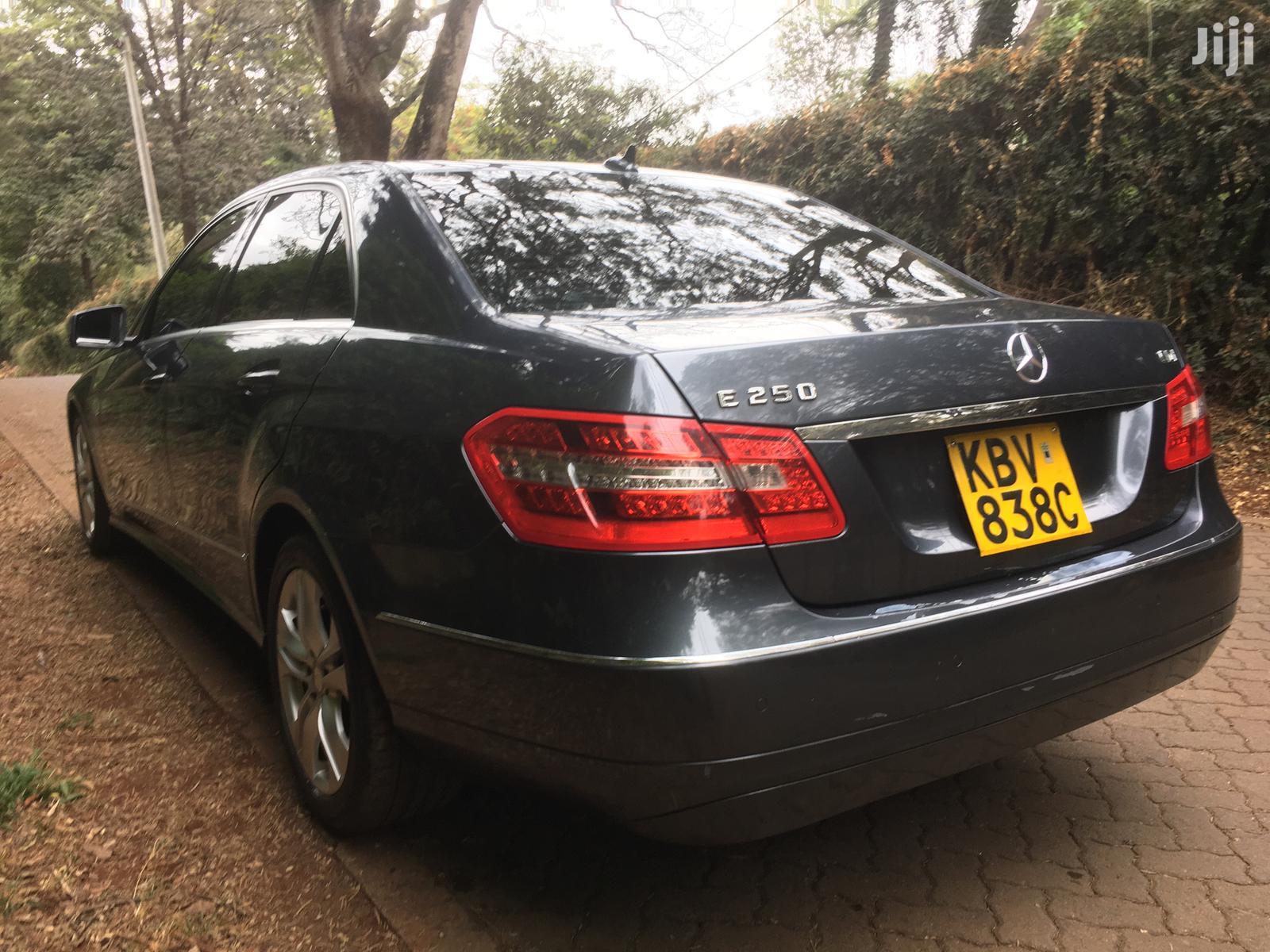 Mercedes-Benz E250 2009 Gray | Cars for sale in Langata, Nairobi, Kenya