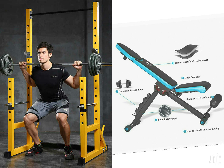 JX Weight Bench+Power Rack/Squat Rack