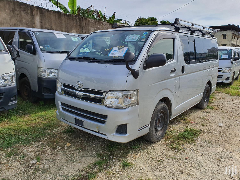 Toyota Hiace 7l Diesel 2013 Silver | Buses & Microbuses for sale in Mvita, Majengo, Kenya
