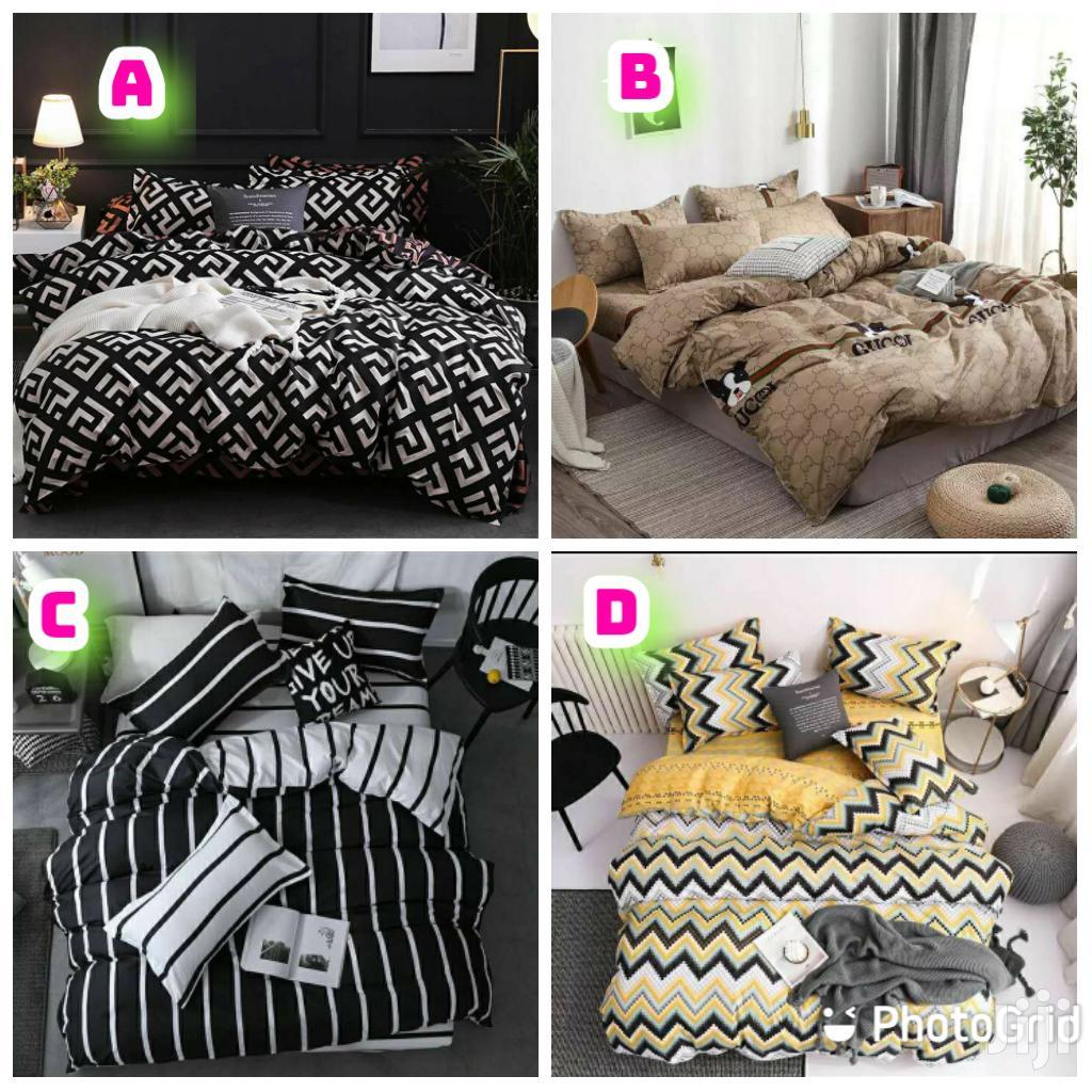 4 in 1 Duvet Cover Set, 1bedsheet,2pillowcases,1quilt Cover