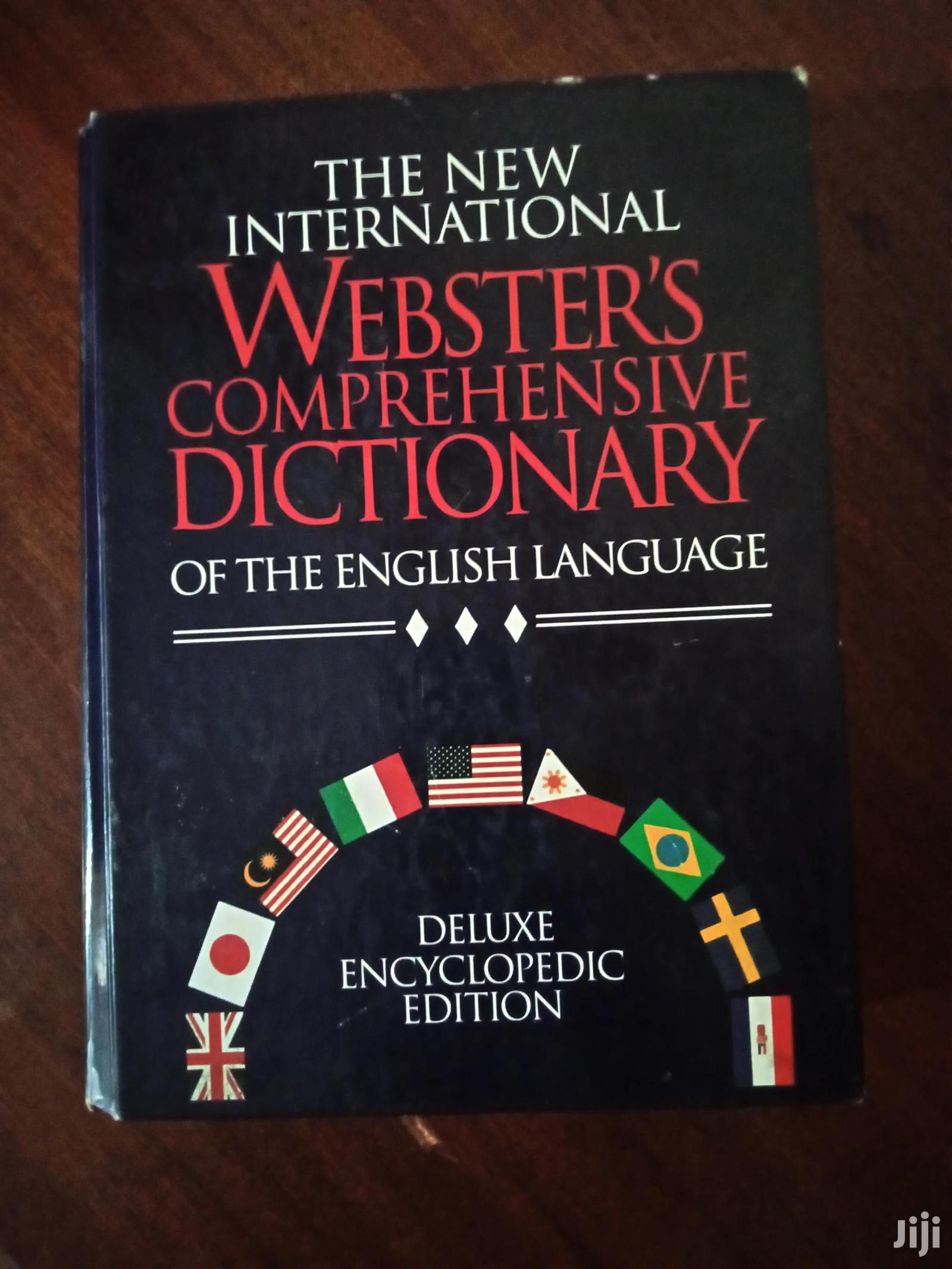 Dictionary*Webster's Comprehensive Dictionary*