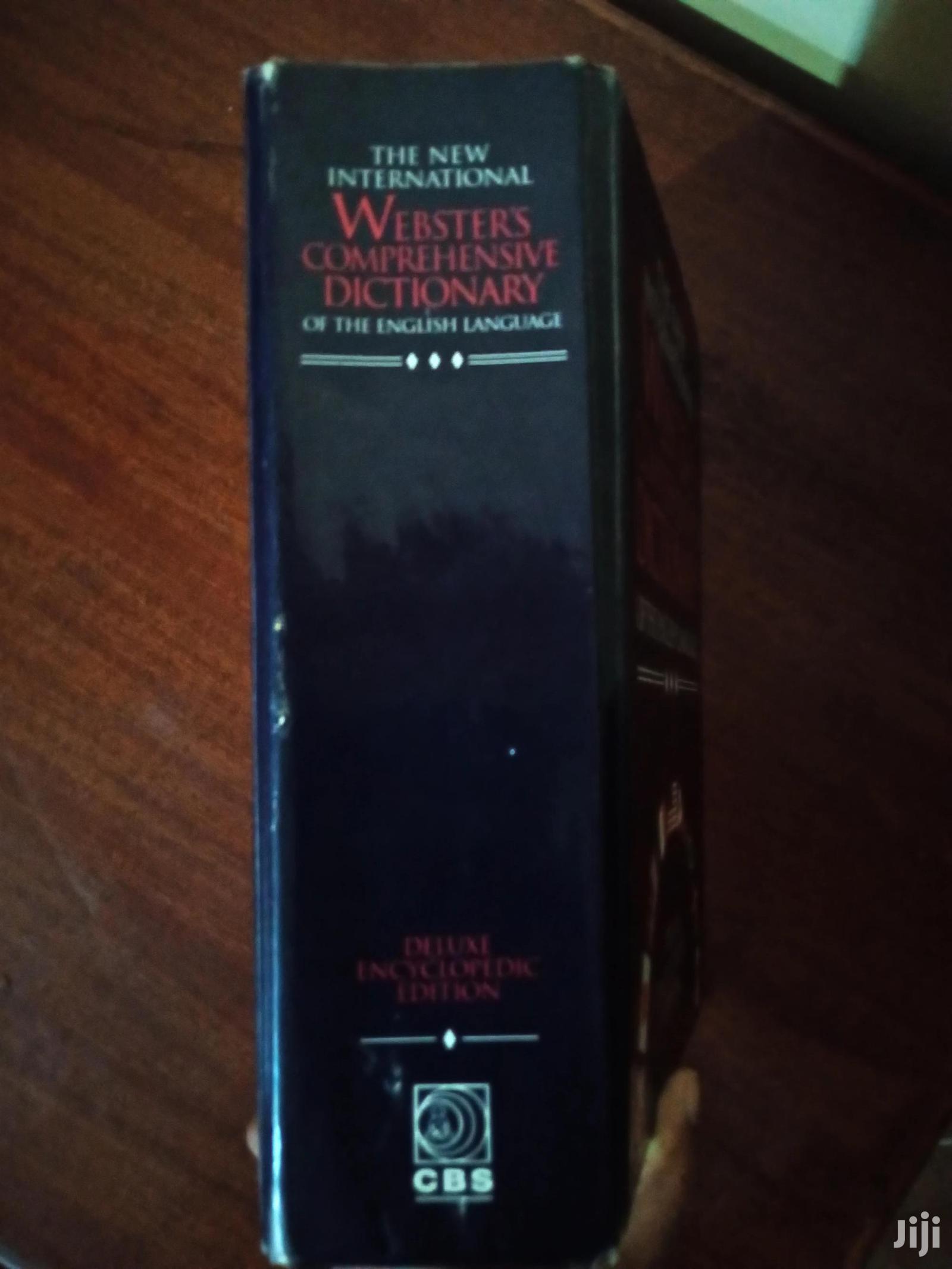 Dictionary*Webster's Comprehensive Dictionary* | Books & Games for sale in Kilimani, Nairobi, Kenya