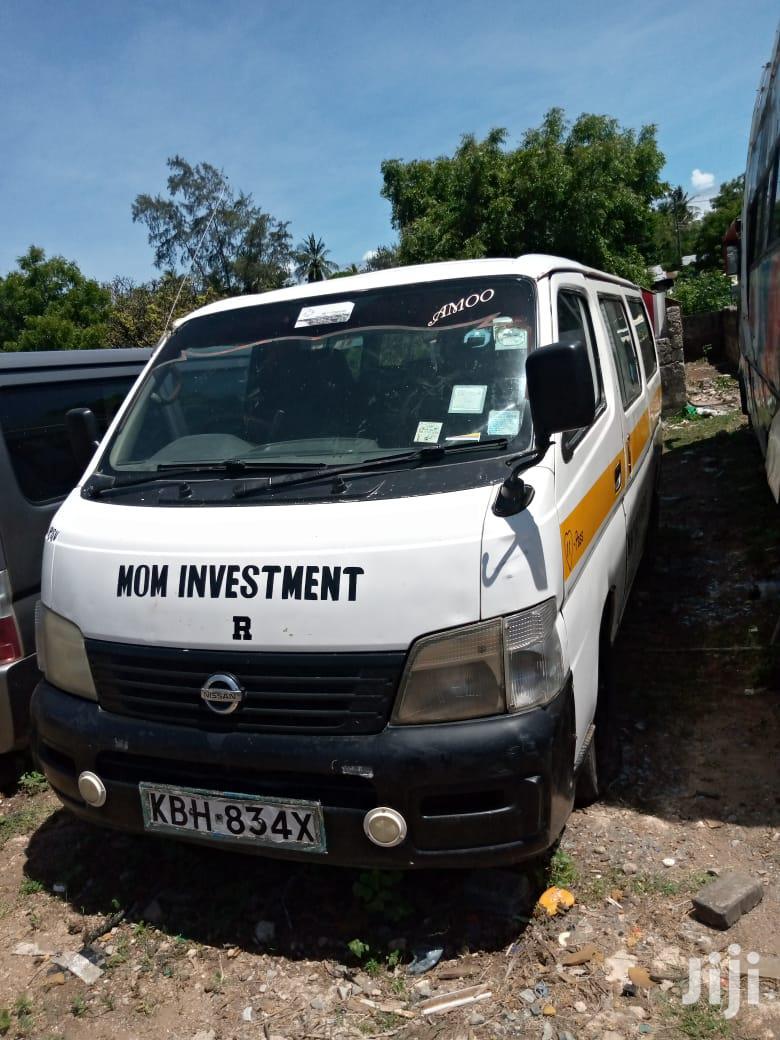 Archive: Nissan Matatu KBH For Sale