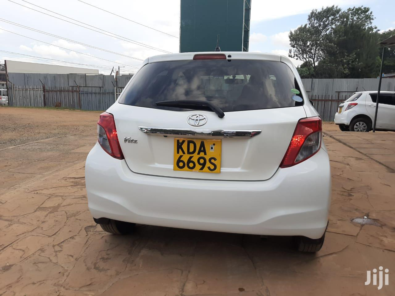 Toyota Vitz 2013 White | Cars for sale in Township E, Kiambu, Kenya
