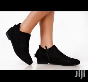Black Ladies Suede Boots   Shoes for sale in Nairobi, Nairobi Central
