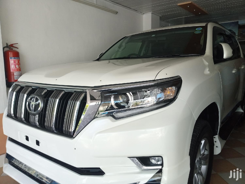 Toyota Land Cruiser Prado 2013 White | Cars for sale in Nyali, Mombasa, Kenya