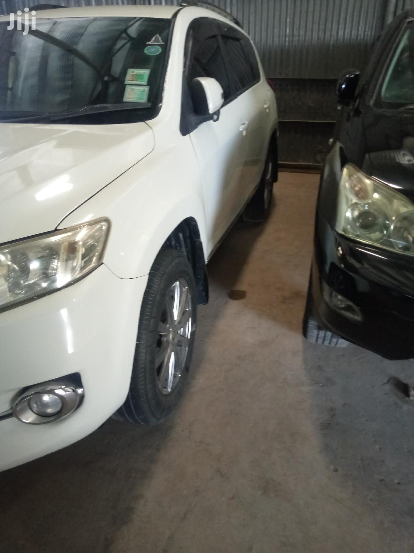 Toyota Vanguard 2010 White   Cars for sale in Mvita, Mombasa, Kenya
