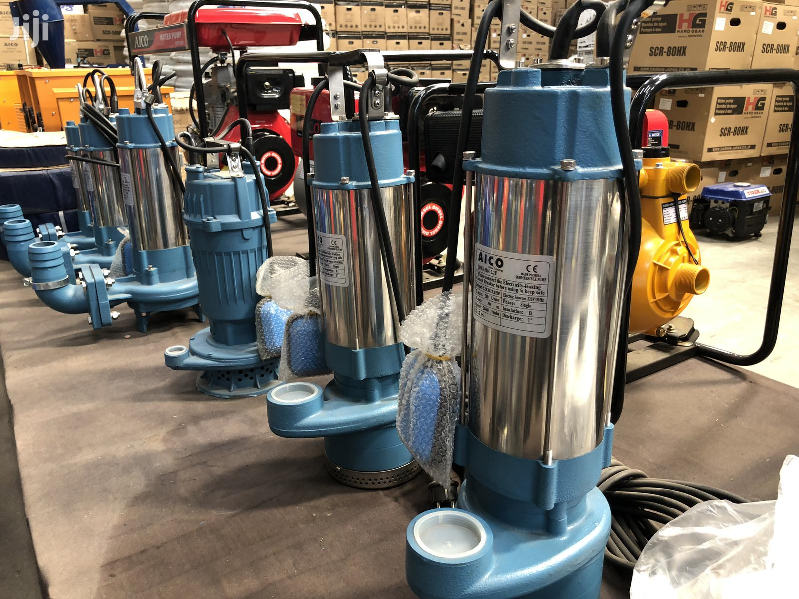 New Water Pumps Submersible