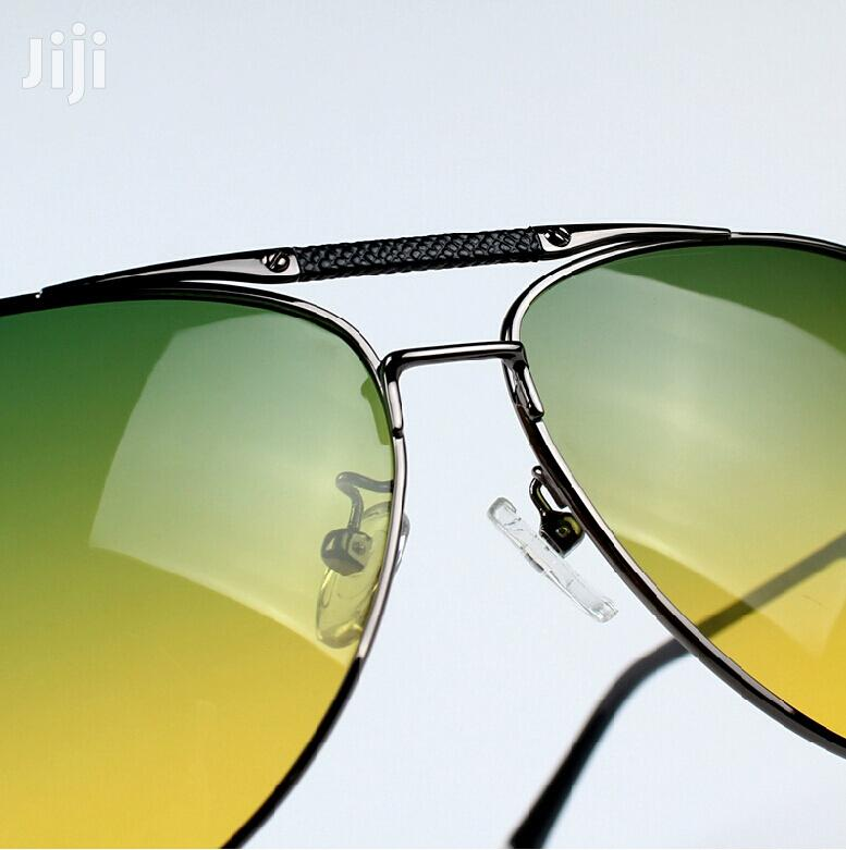 Day/Night Dual-Purpose Vision Driving Aviator Polarized Sunglasses | Clothing Accessories for sale in Nairobi Central, Nairobi, Kenya