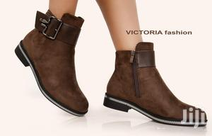 Ladies Suede Boots @2500   Shoes for sale in Nairobi, Kilimani