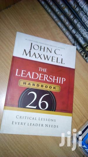 The Leadership Handbook-  John C. Maxwell | Books & Games for sale in Tharaka-Nithi, Chogoria