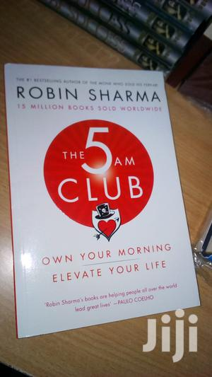 The 5 AM Club-Robin Sharma | Books & Games for sale in Trans-Nzoia, Kitale