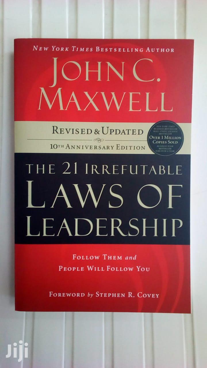 The 21 Irrefutable Laws of Leadership-John C. Maxwell