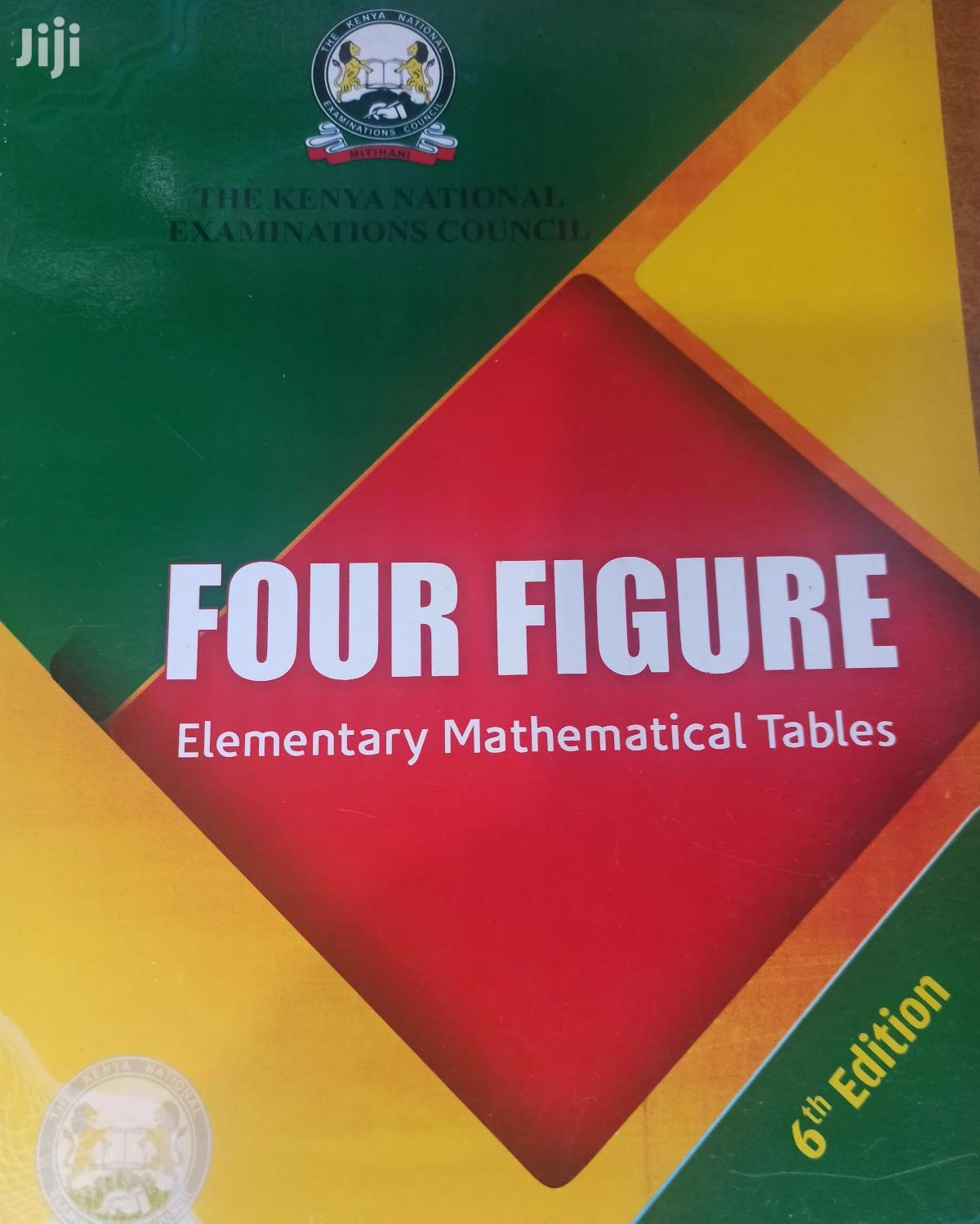Four Figure Mathematical Table